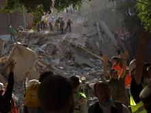 После землетрясения в Мексике. Getty Images. Фото: Р.Фабрес