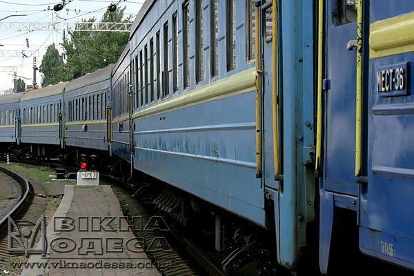 Под Одессой подростка, который залез напоезд, ударило током