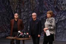 На фото: Леонид Бутенко, Василий Вовкун, Надежда Бабич