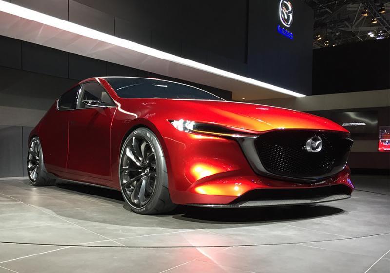 Мазда представила вТокио концептуальный автомобиль Vision Coupe