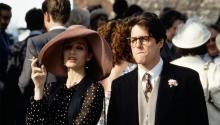 Кадр из фильма «Четыре свадьбы и одни похороны»