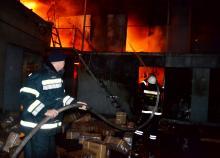 Пожар на «Седьмом километре». Фото: Главное управление ГСЧС в Одесской области