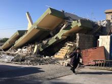 Сулеймания, Ирак. 13 ноября 2017 года. Фото:  REUTERS/Ako Rasheed;
