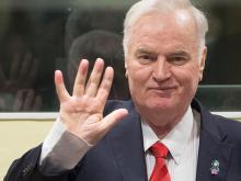 Ратко Младич в суде. Гаага, 22 ноября 2017 года.  Getty Images. Фото: М.Порро
