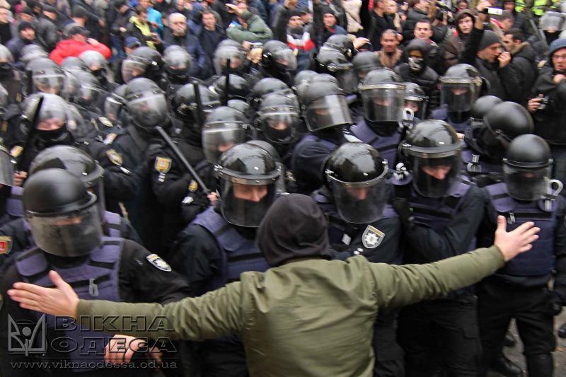 Стало известно, зачто милиция Одессы задержала лидера «Уличного фронта»