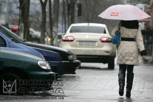 ВОдессе иобласти объявлено штормовое предупреждение