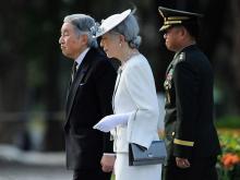 Император Акихито с супругой. 2016 год.  Getty Images. Фото: Д.Товато