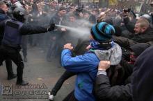 Конфликт в Горсаду. Фото Олега Владимирского