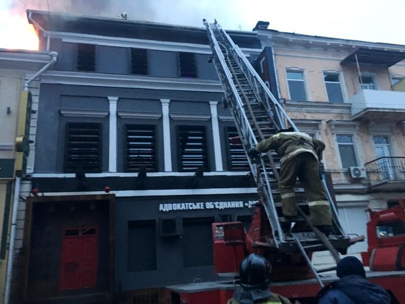 ВКиеве произошел пожар вжилой многоэтажке