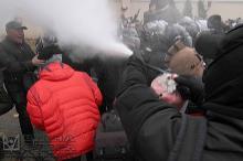 Конфликт в Горсаду 18 ноября. Фото Олега Владимирского