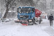 В Одессе 16 января. Фото Олега Владимирского