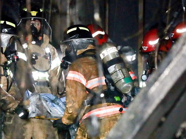 Пожар в клинике вЮжной Корее забрал жизни 41 человека