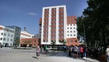 Здание «новой мэрии».  Фото (архив) Вячеслава Тенякова