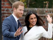 Принц Гарри и Меган Маркл.  Getty Images. Фото: К.Джексон