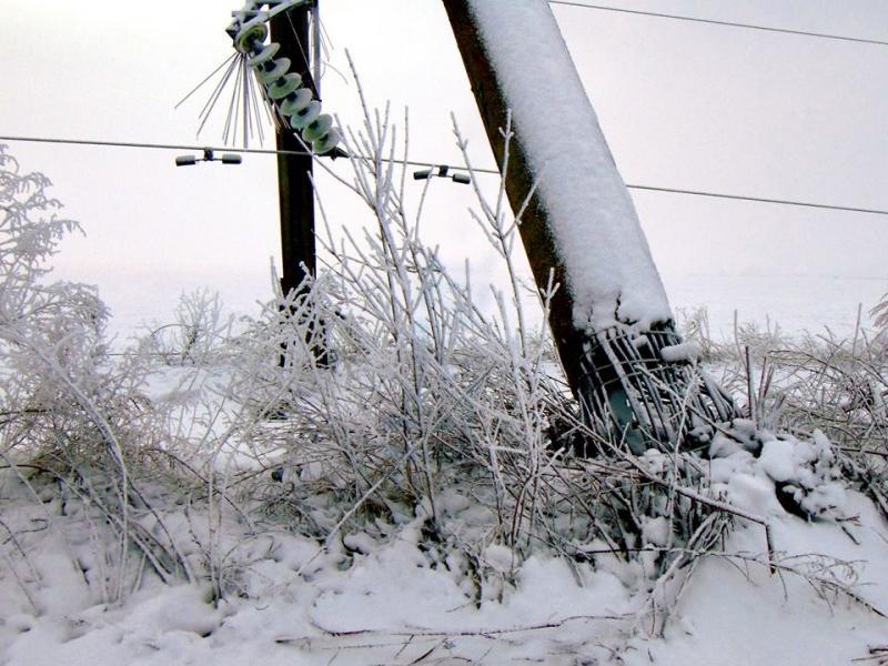 Январская непогода нанесла Одесской области существенный ущерб