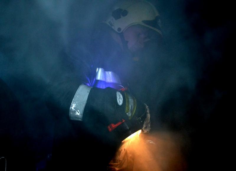 Наместе пожара вОдессе cотрудники экстренных служб отыскали два тела