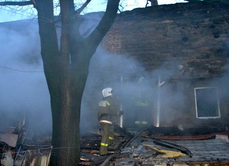 Вцентре Одессы вмасштабном пожаре погибли два человека