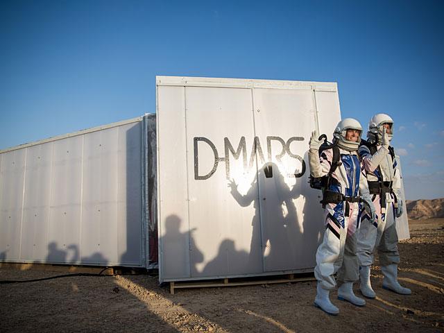 Визраильской пустыне закончилась симуляция экспедиции наМарс