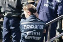 На месте трагедии в «Виктории». 16 сентября 2017 г. Фото Вячеслава Тенякова