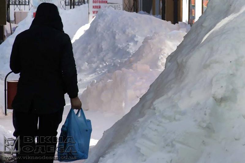 Одесса покроется льдом— Штормовое предупреждение
