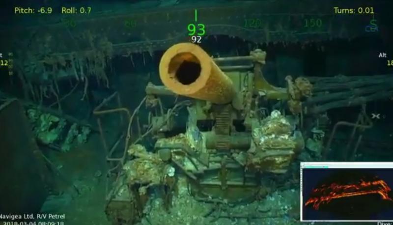 Упобережья Австралии отыскали затонувший в1942-м авианосец США