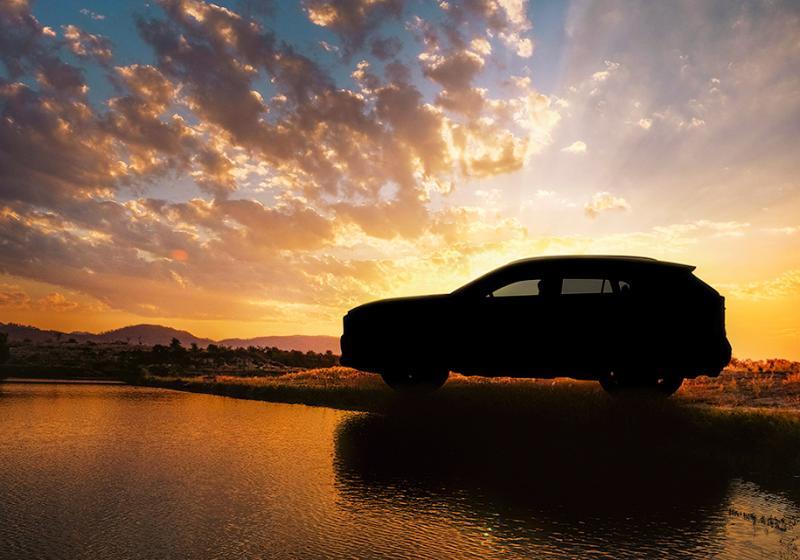 Новый Тойота RAV4: официальное изображение идата премьеры