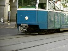 Трамвай в Германии (иллюстрация).  Hemera Technologies