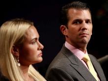 Ванесса и Дональд Трамп-младший.  Getty Images. Фото: В.Макнами