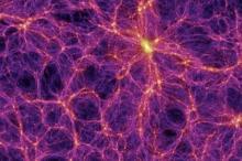 Изображение: Volker Springel / Max Planck Institute For Astrophysics / SPL