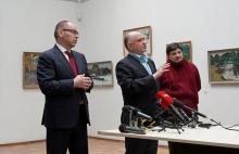 Максим Степанов назначил А. Ройтбурда директором музея. Фото пресс-службы Одесской ОГА