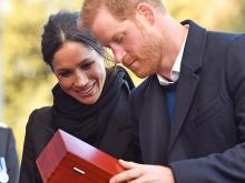Принц Гарри и Меган Маркл.  Getty Images. Фото: Б.Бирхолл