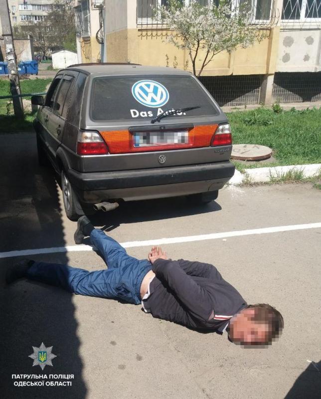 План «Перехват»: вОдессе провели задержание автоворов