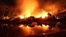 Пожар в «Виктории»