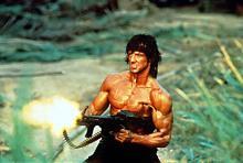 Кадр из фильма «Рэмбо: Первая кровь 2»
