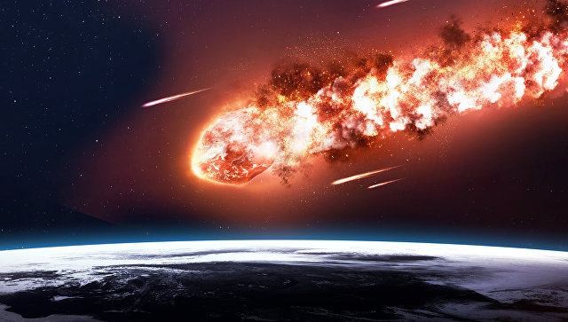 Астероид взорвался внебе над Африкой
