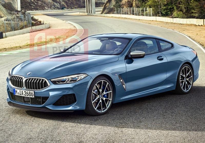 Первое фото BMW 8 Series 2019 без камуфляжа