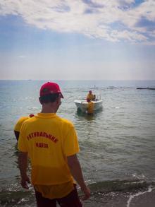 Фото спасательно-водолазной службы Одесского горсовета