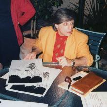 Харлан Эллисон в 1986 г. Фото: wikimedia.org