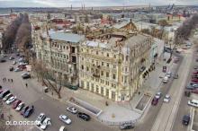 Дом Либмана и дом Русова. Фото Александра Вельможко. 13 января 2018 г.