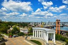 Бельведер-колоннада Воронцовского дворца. Архивное фото с Официального сайта Одессы