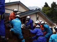 После землетрясения в Японии (архив).  Getty Images. Фото: К.Корт