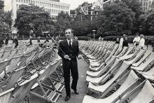 Шарль Азнавур в Лондоне, 1966 год. Фото: George Elam / Daily Mail / REX / Shutterstock