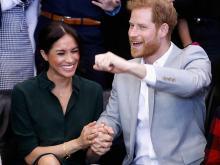 Меган и принц Гарри.  Getty Images. Фото: К. Джексон