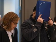 Нильс Хегель в суде, 30 октября 2018 года. Getty Images. Фото: Д.Хеккер