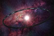 Астроинженерное сооружение в виде кольца. Изображение: Hill / Wikipedia