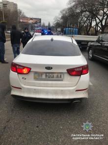 Фото: управление патрульной полиции Одесской области
