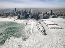 Вид на Чикаго. 31 января 2019 года.  Getty Images. Фото: С.Олсон