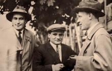 На фото: Валентин Катаев, Юрий Олеша, Михаил Булгаков