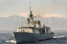 Канадский фрегат. Фото со страницы facebook.com/HMCSToronto