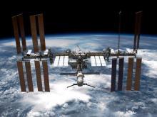 Международная космическая станция.  NASA/Getty Images